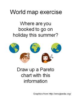 Where are you going on holiday this summer? (collecting data is easy)